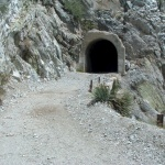 Tunnel towards Mt. Wilson