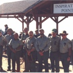 Volunteers with Forest Service