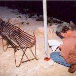 Measuring on Mount Lowe
